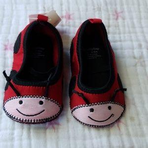 Baby Gap ladybug shoes